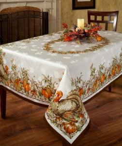 Turkey Festivities Tablecloth