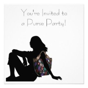 You're Invited to a Purse Party! Invitations