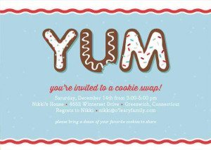 Yum Holiday Party Invitations