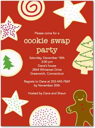 holiday icing holiday party invitations