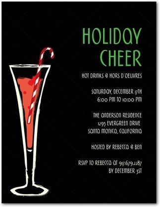 holiday mix holiday party invitations