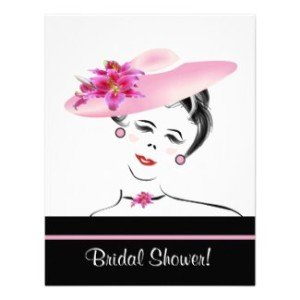 retro_lovely_lady_bridal_shower_invitation