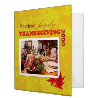your family thanksgiving binder