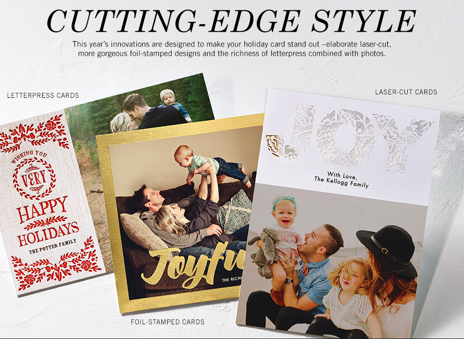 2014 Best Holiday Card Styles