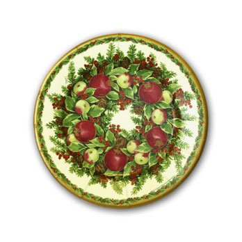 Williamsburg Wreath Plates
