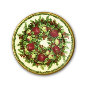 Williamsburg Wreath Plates