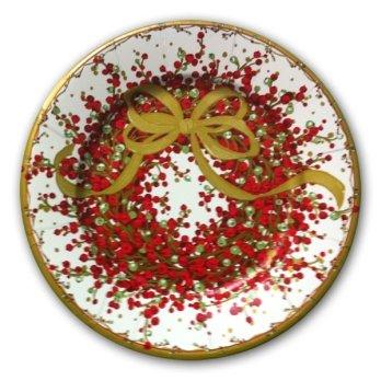 Pepperberry Christmas Wreath Plates