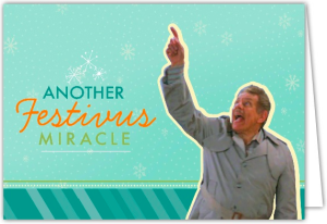 Another Festivus Miracle Holiday Photo Cards