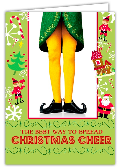 Christmas Cheer Buddy The Elf Christmas Cards