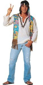 Franco American Novelty Hippie Dude Costume