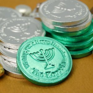 Hanukkah Chocolate Coin Favors