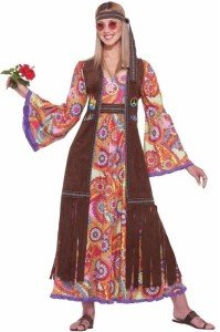 Hippie Love Child Adult Costume