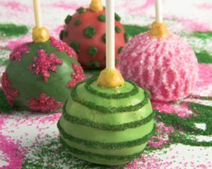 Holiday Ornaments Gourmet Brownie Favors