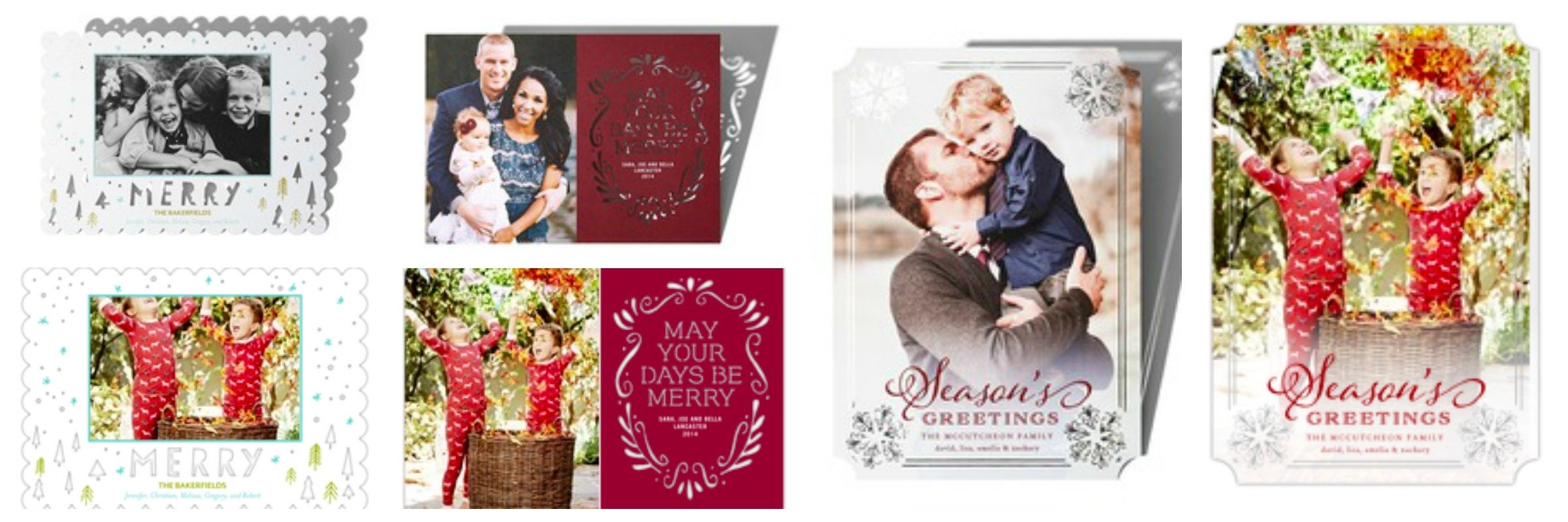 Holiday Card Insert Photo Feature, Best Holiday Cards