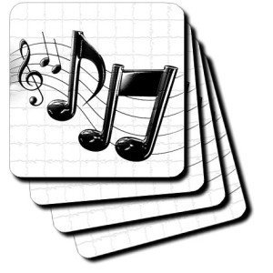 Music Notes - Coasters
