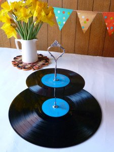 Music Themed Party Cakestand Centerpiece