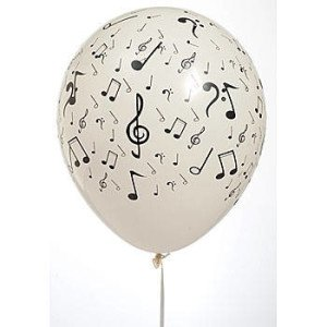 Musical Notes Balloons