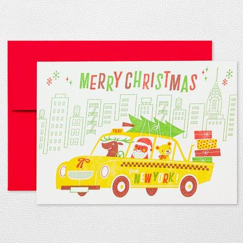 NEW YORK CHRISTMAS Holiday Card