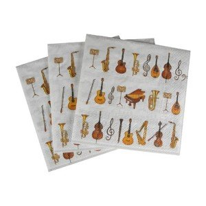 Orchestra Cocktail Napkins