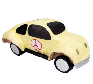 Peace Buggy Pinata