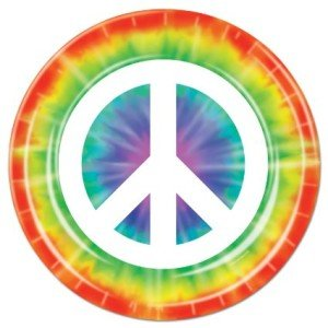 Peace Sign Plates