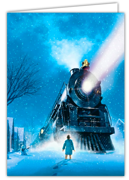 Platform Polar Express Holiday Photo Cards