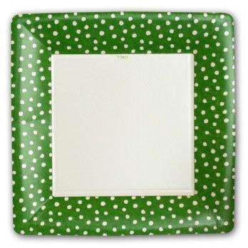 Small Dots Green Plates