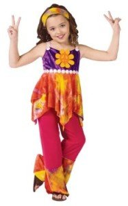 Tie Dye Hippie Child Costume
