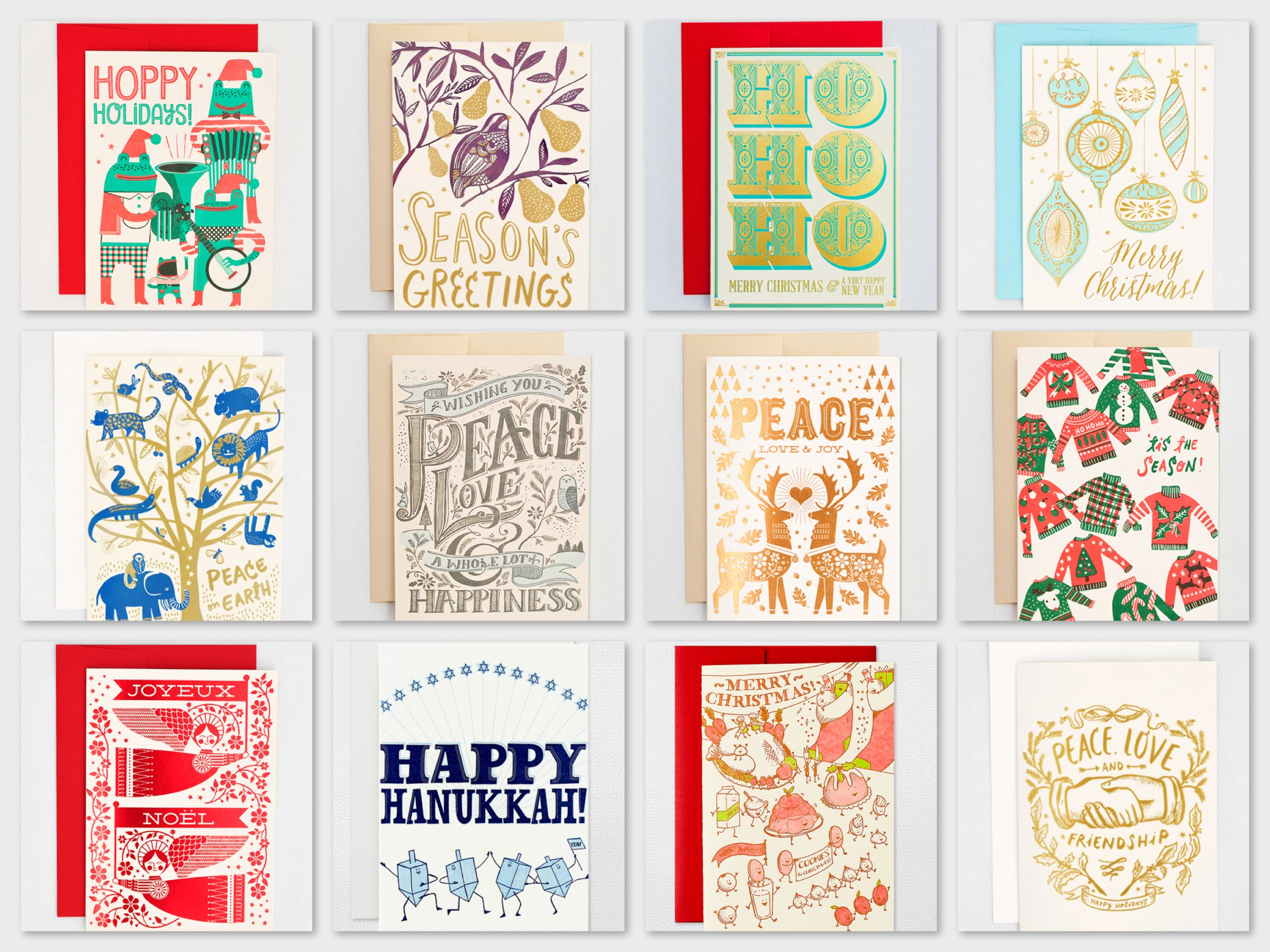 Hello!Lucky Holiday Cards, Best Holiday Cards