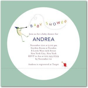 jazzy jive baby shower invitations