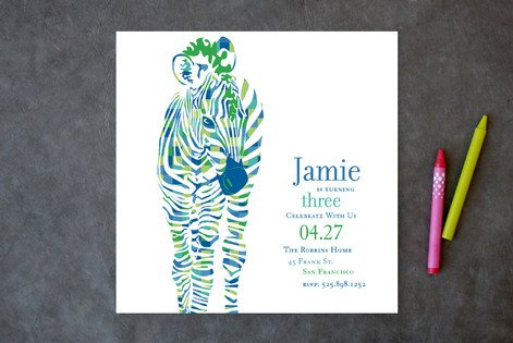 Green Zebra Invite