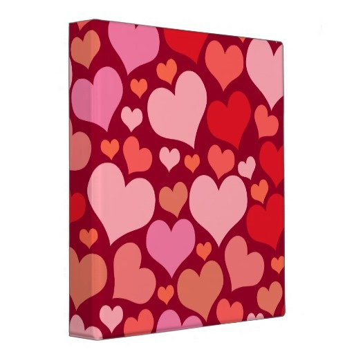 Many Hearts Binder