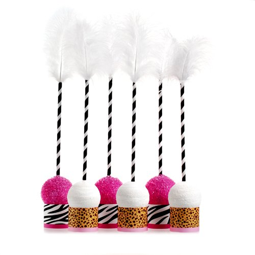 Perfect Party Girl Safari Cake Pops