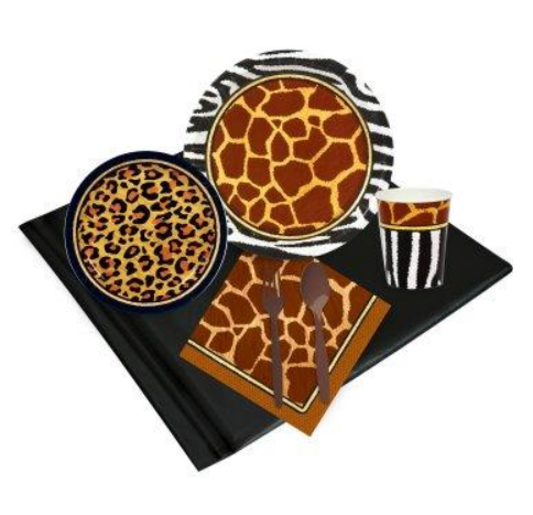 Safari Adventure Party Kit
