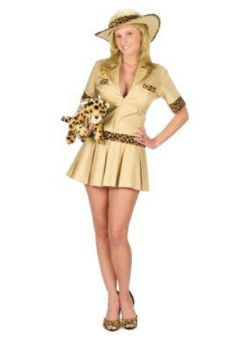 Sexy Safari Girl Costume