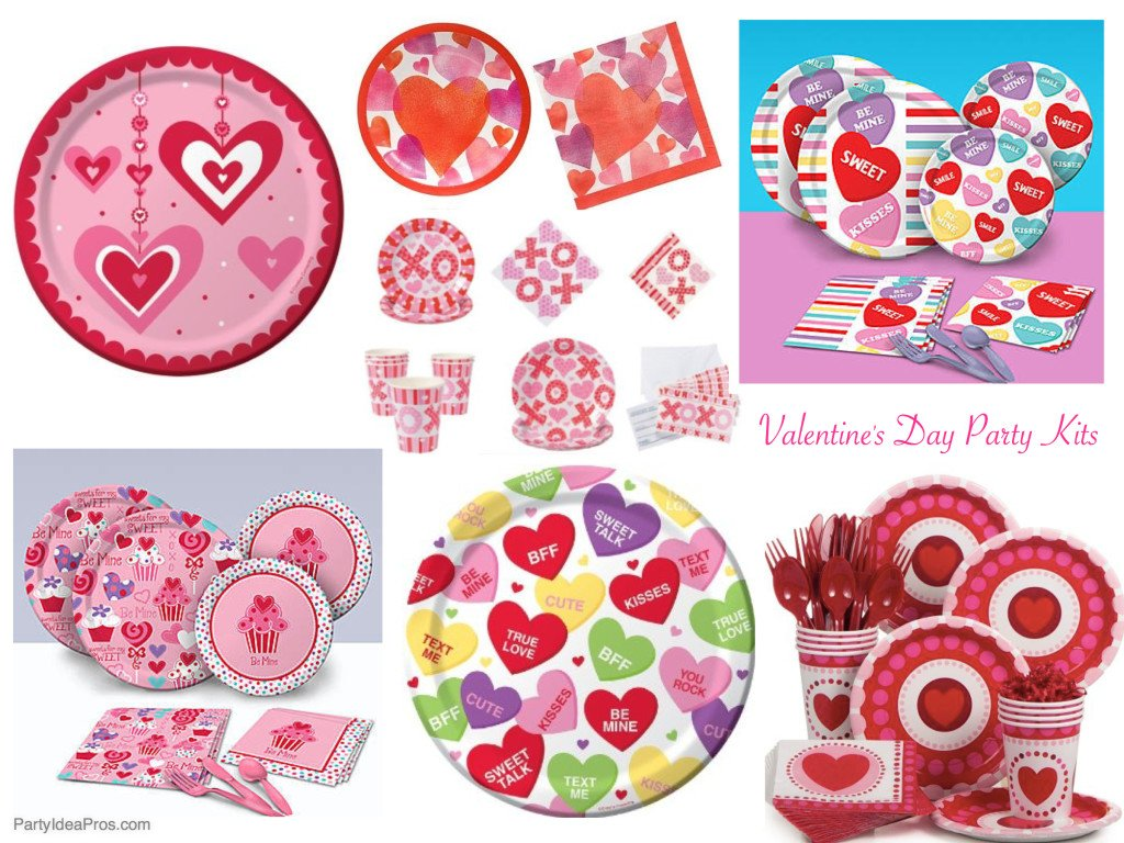 Valentines Day Party Kits