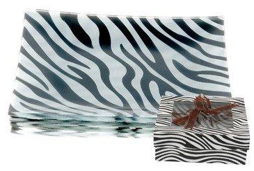 Wild Eye Zebra Appetizer Plates