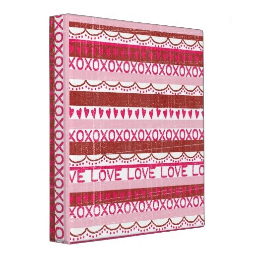 XOXO Love Scrapbook Album