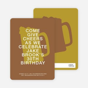cheers invitations