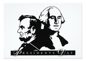 presidents day personalized invite