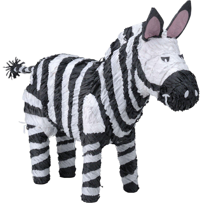 zebra pinata.