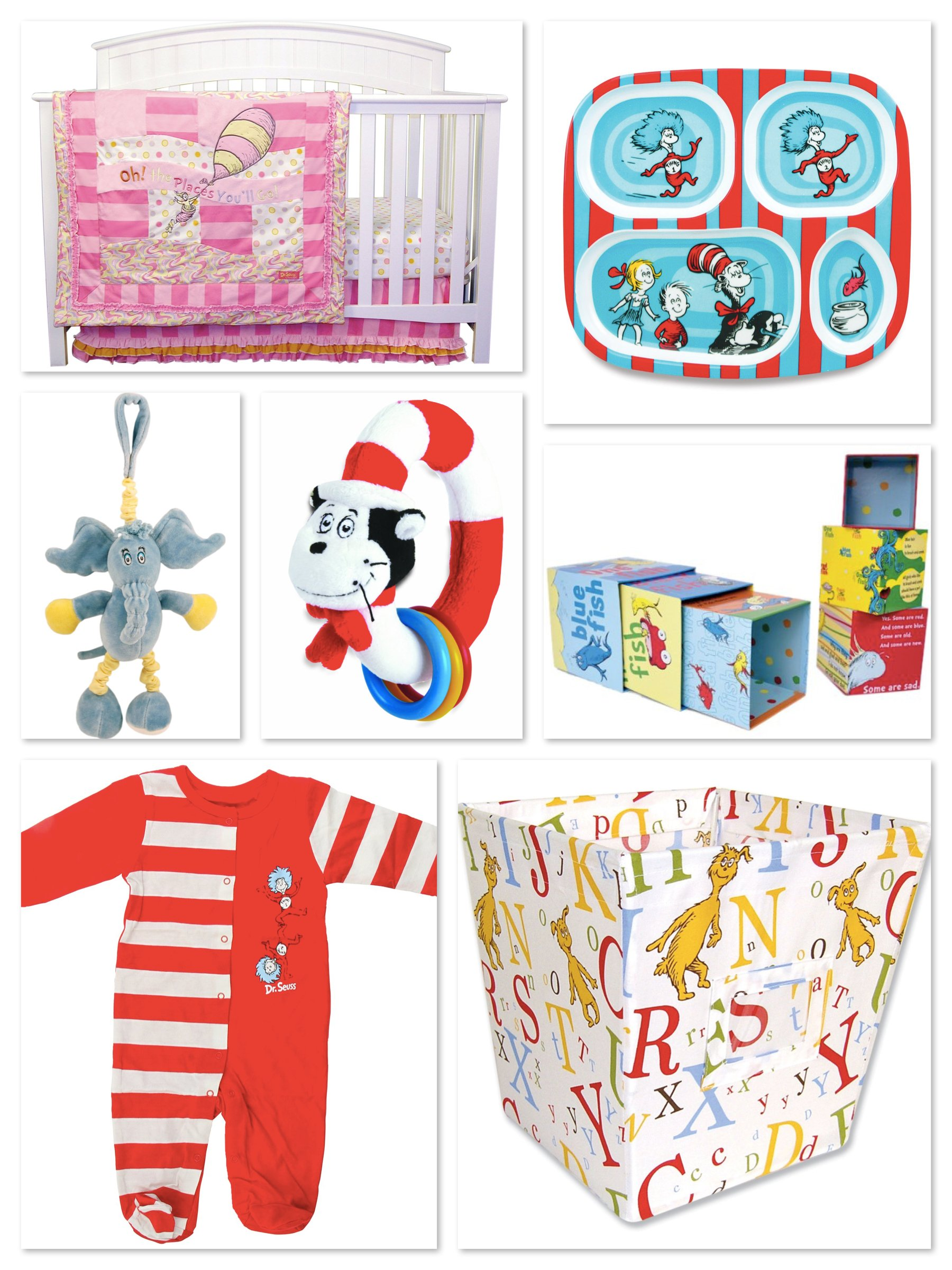 Dr Seuss Baby Shower and Nursery Gifts