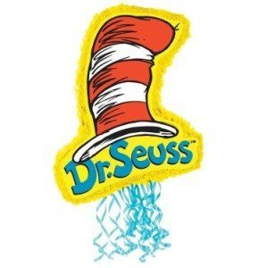 Dr Seuss Cat In The Hat Pull-String Pinata