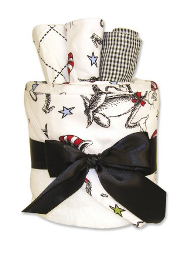 Dr Seuss Cat in the Hat Towel Gift Cake