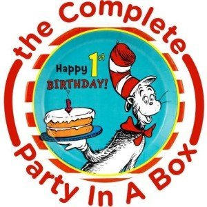 Dr. Seuss 1st Birthday Party in a Box