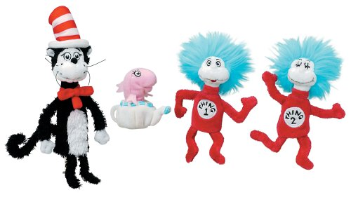 Dr. Seuss Cat in the Hat Finger Puppet Set