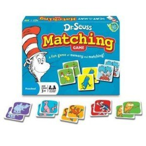 Dr. Seuss - Matching Game