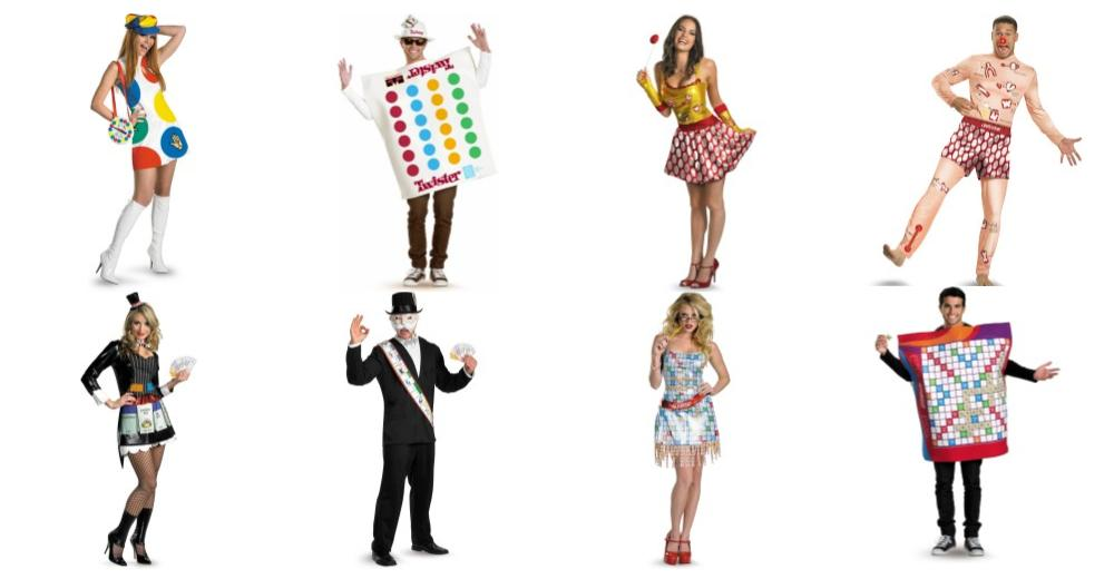 Gameboard Costumes for Couples