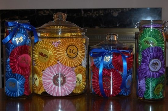Horse Show Ribbon Jars
