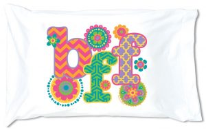 Sleepover Autograph Pillowcase